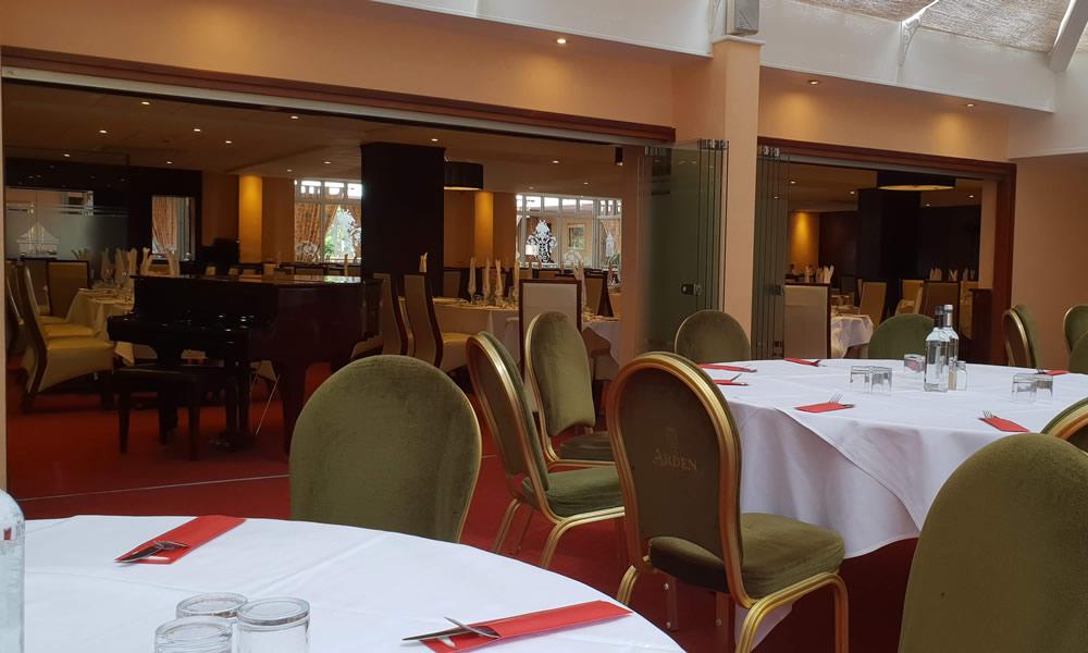 Burgundy restaurant and conservatory